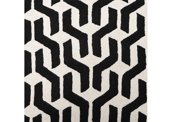 条纹与格纹的黑白混搭,洗练明朗,舒适简约 整体呈现独特的几何图案图片